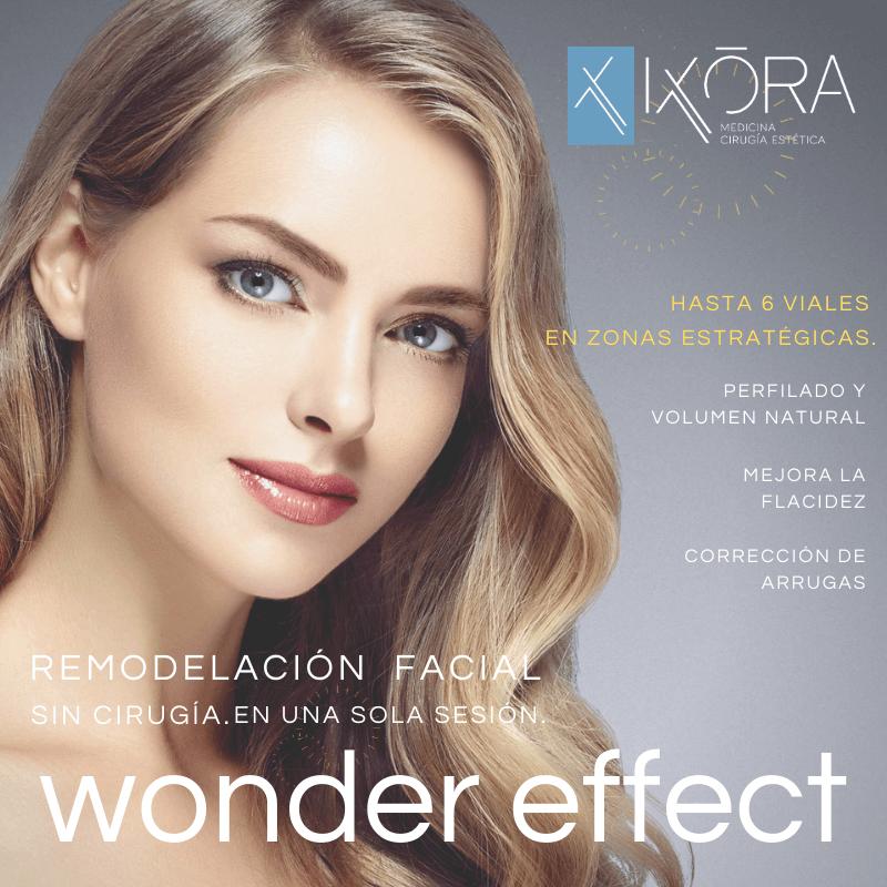 Nuevo tratamiento Facial Wonder Effec
