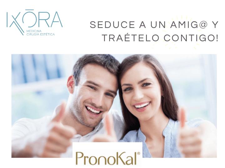 Clínica Ixora y Pronokal premian tu compromiso